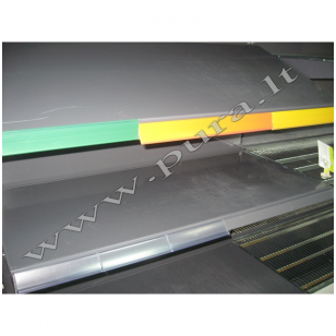 Extruded data strip